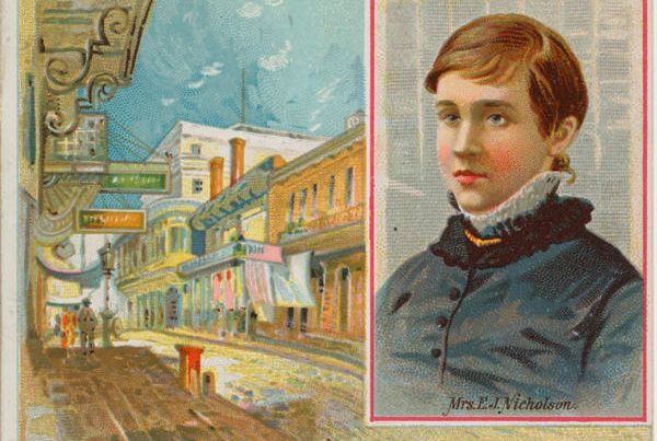 Eliza Jane Nicholson, The Small-Town Poet Who Became The First Woman Publisher Of The Picayune